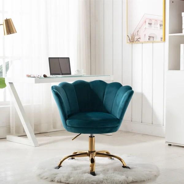 furry vanity chair