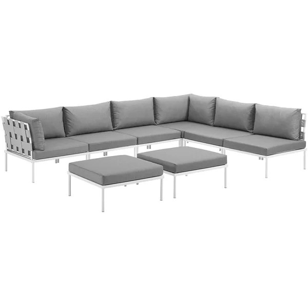 modern contemporary circular outdoor sectionals