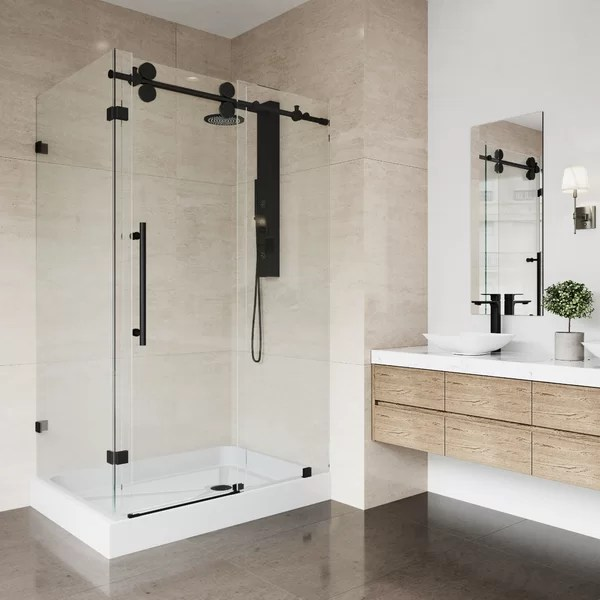 48 x 48 corner shower