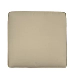 double piped outdoor sunbrella seat cushion