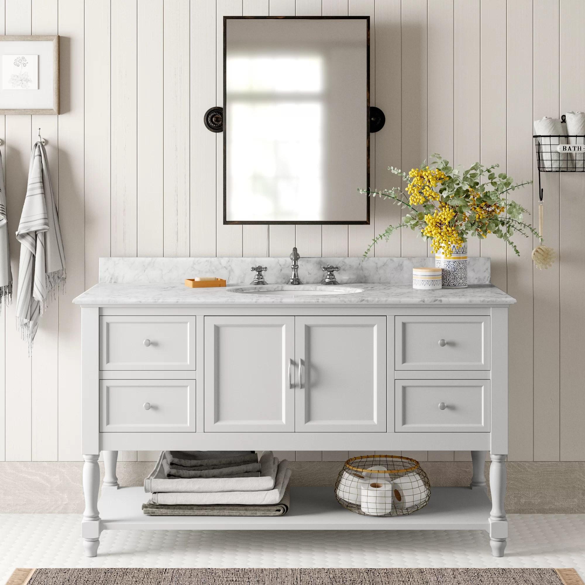 otho 60 single bathroom vanity set