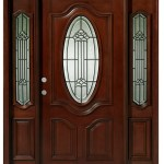 Asian Pacific Products Inc Delux Mahogany Prehung Front Entry Doors With Sidelights Reviews Wayfair