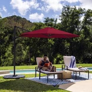 turquoise patio umbrellas you ll love