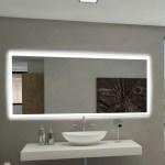 Paris Mirror Rectangle Backlit Bathroom Vanity Wall Mirror Reviews Wayfair Ca