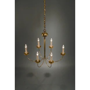 6 Light Candle Style Chandelier