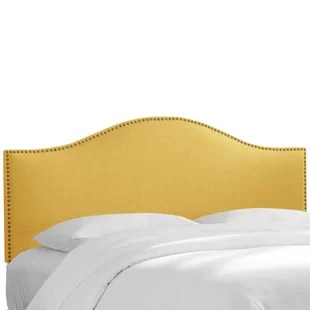 antique brass king headboard | wayfair