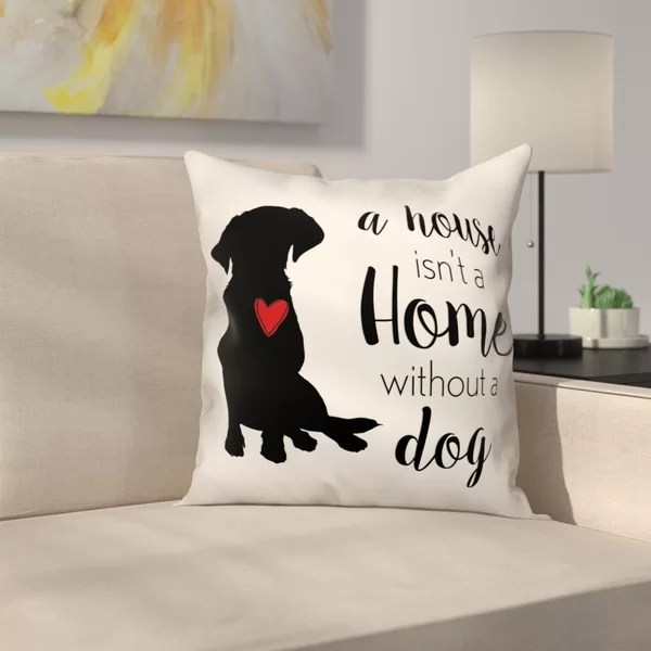throw pillows with dogs on them online