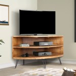 Foundry Select Laurine Solid Wood Corner Tv Stand For Tvs Up To 42 Reviews