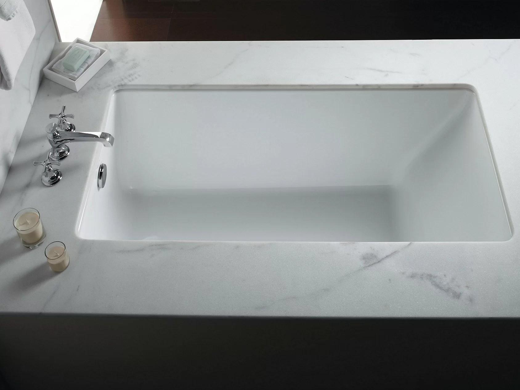 perfect 60 x 32 drop in soaking acrylic bathtub