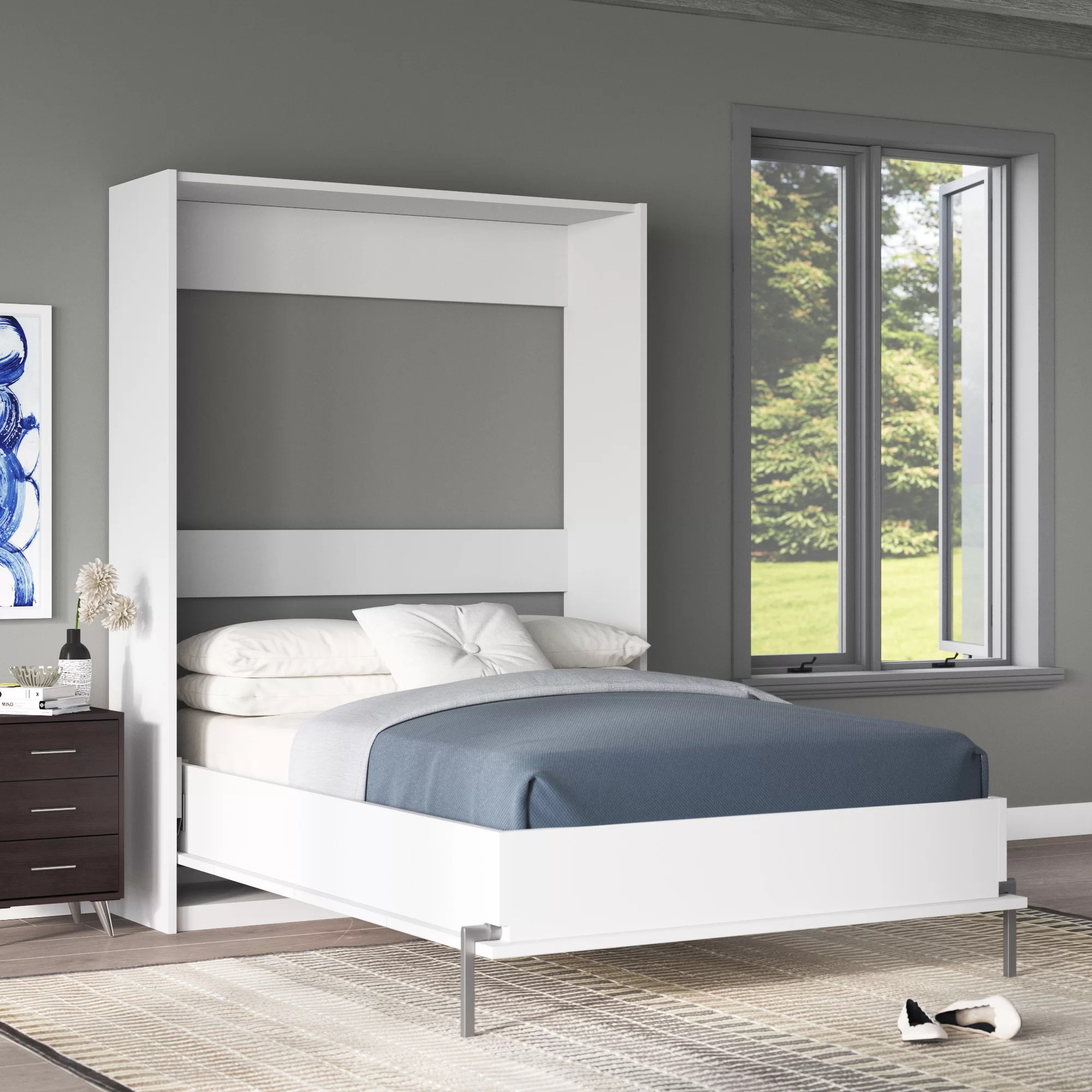 ojas full murphy bed