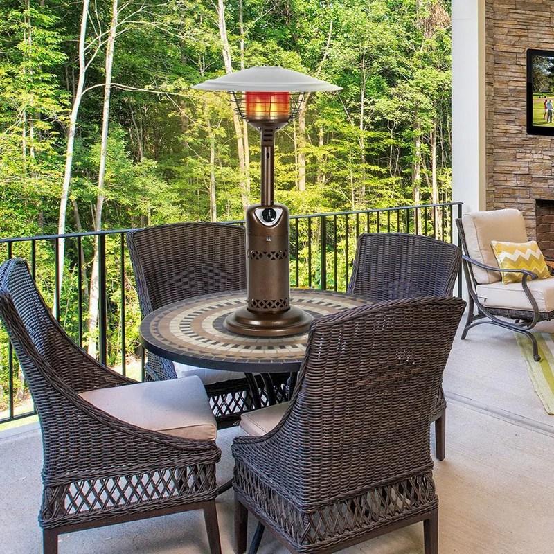 10 000 propane tabletop patio heater