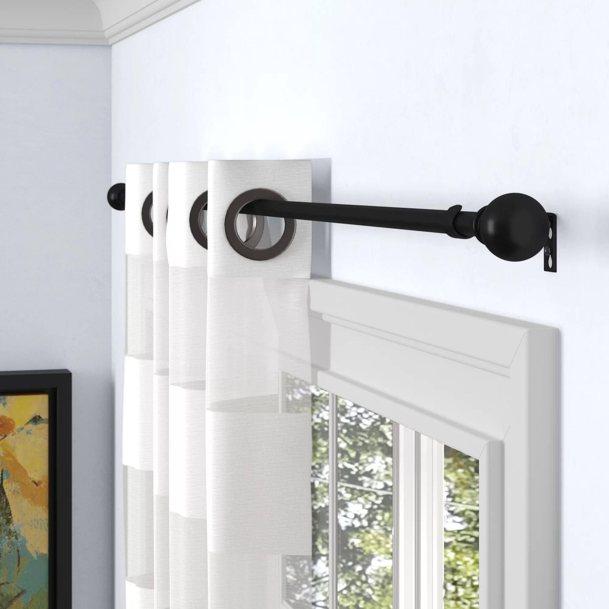 wall wall rod curtain hardware