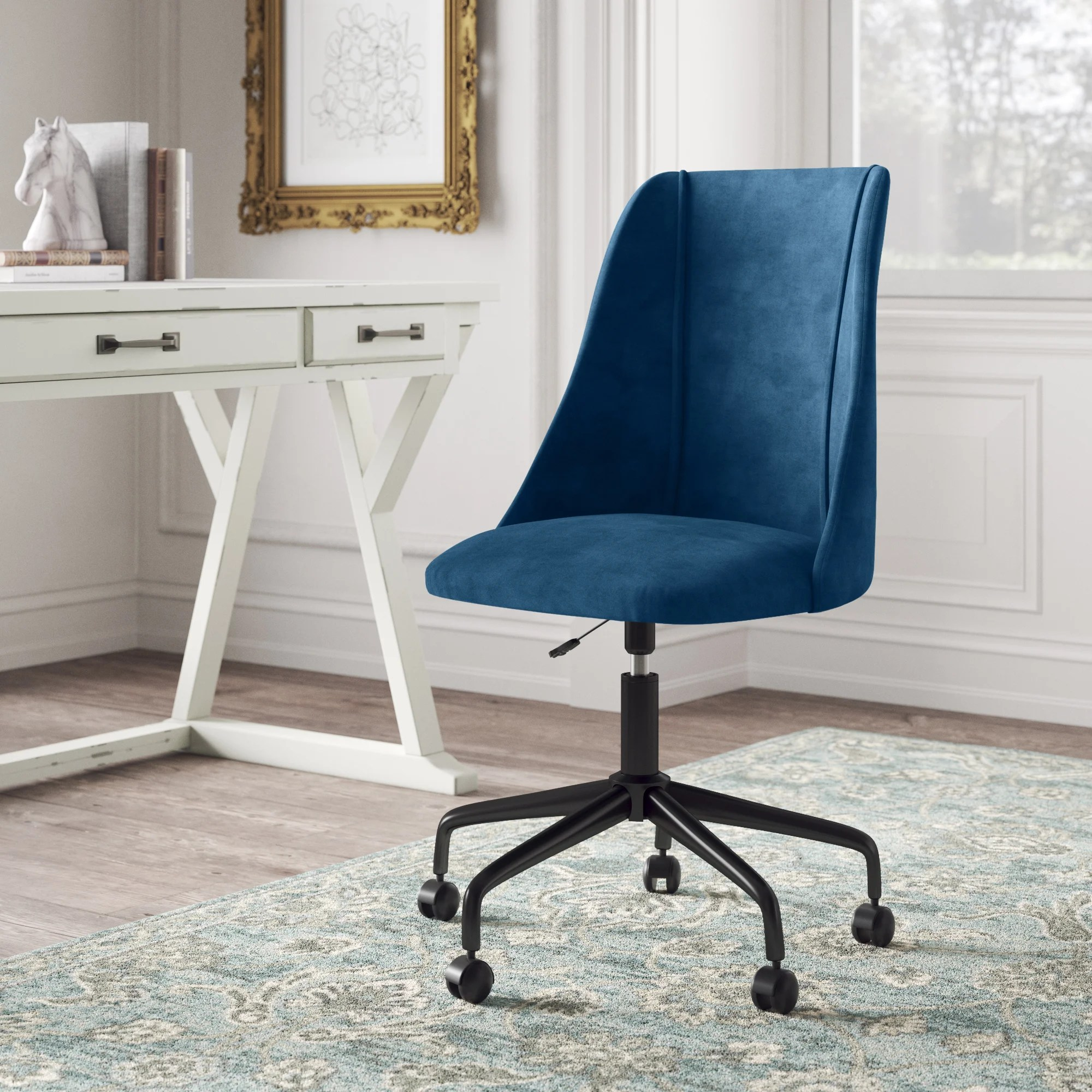 Blue Desk Chairs You Ll Love In 2020 Wayfair