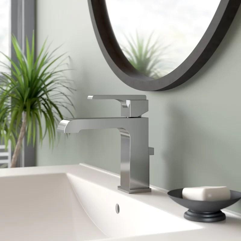 ara single hole bathroom faucet