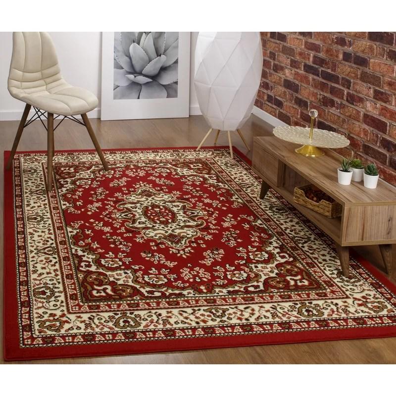 tapis brun beige oriental koa