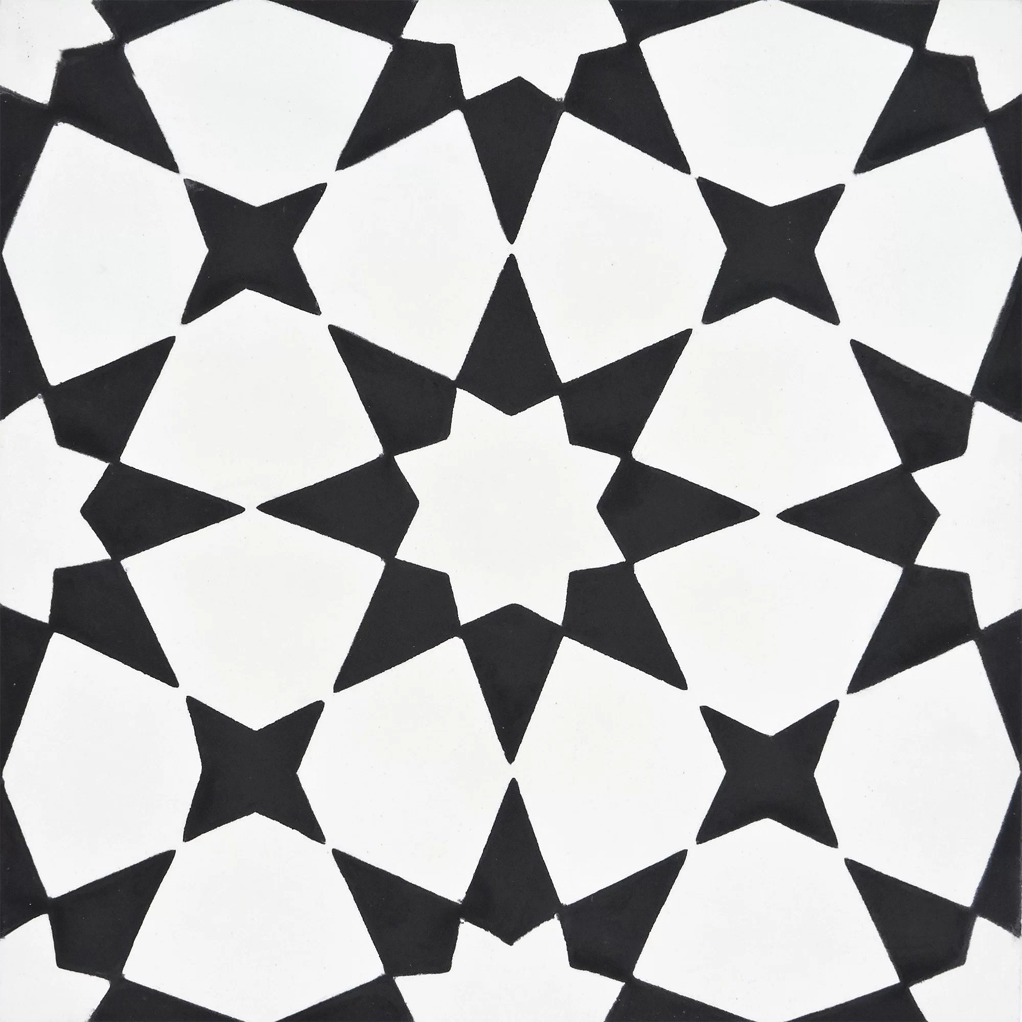 medina 8 x 8 cement patterned wall floor tile