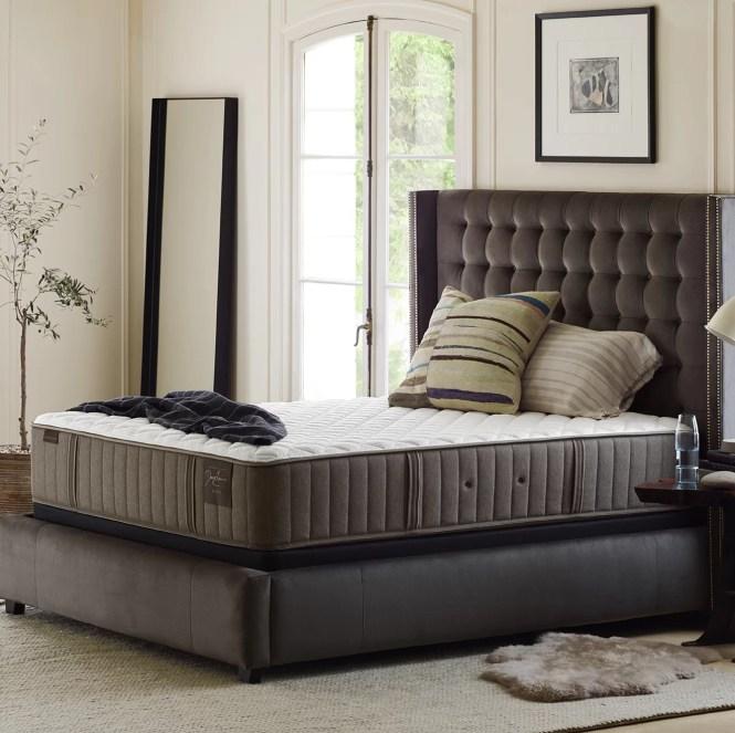 Stearns Foster Estate 13 5 Extra Firm Gel Memory Foam Mattress Reviews Wayfair