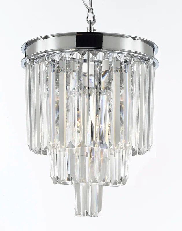 Odeon 3 Light Crystal Chandelier