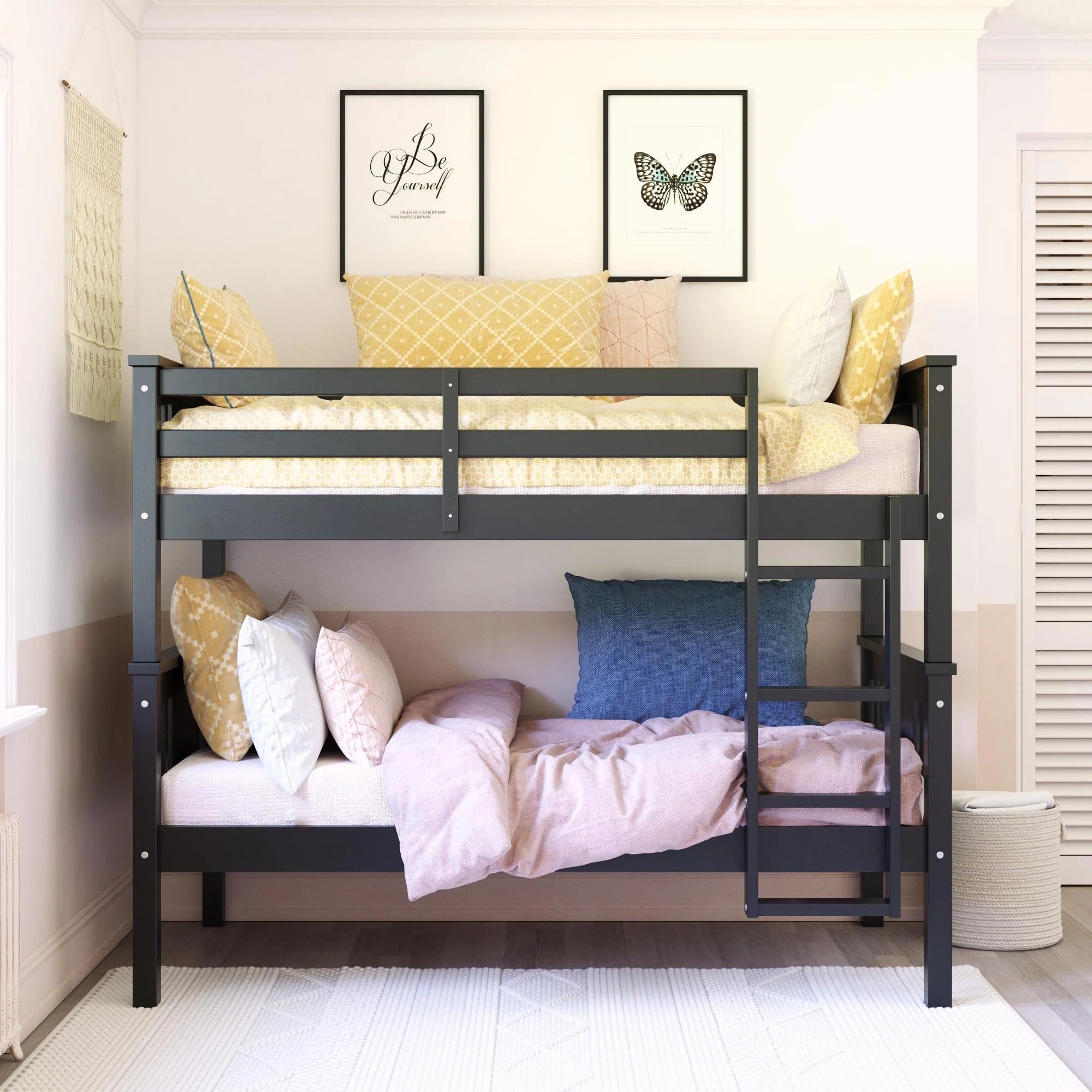 black wood bunk beds you ll love in