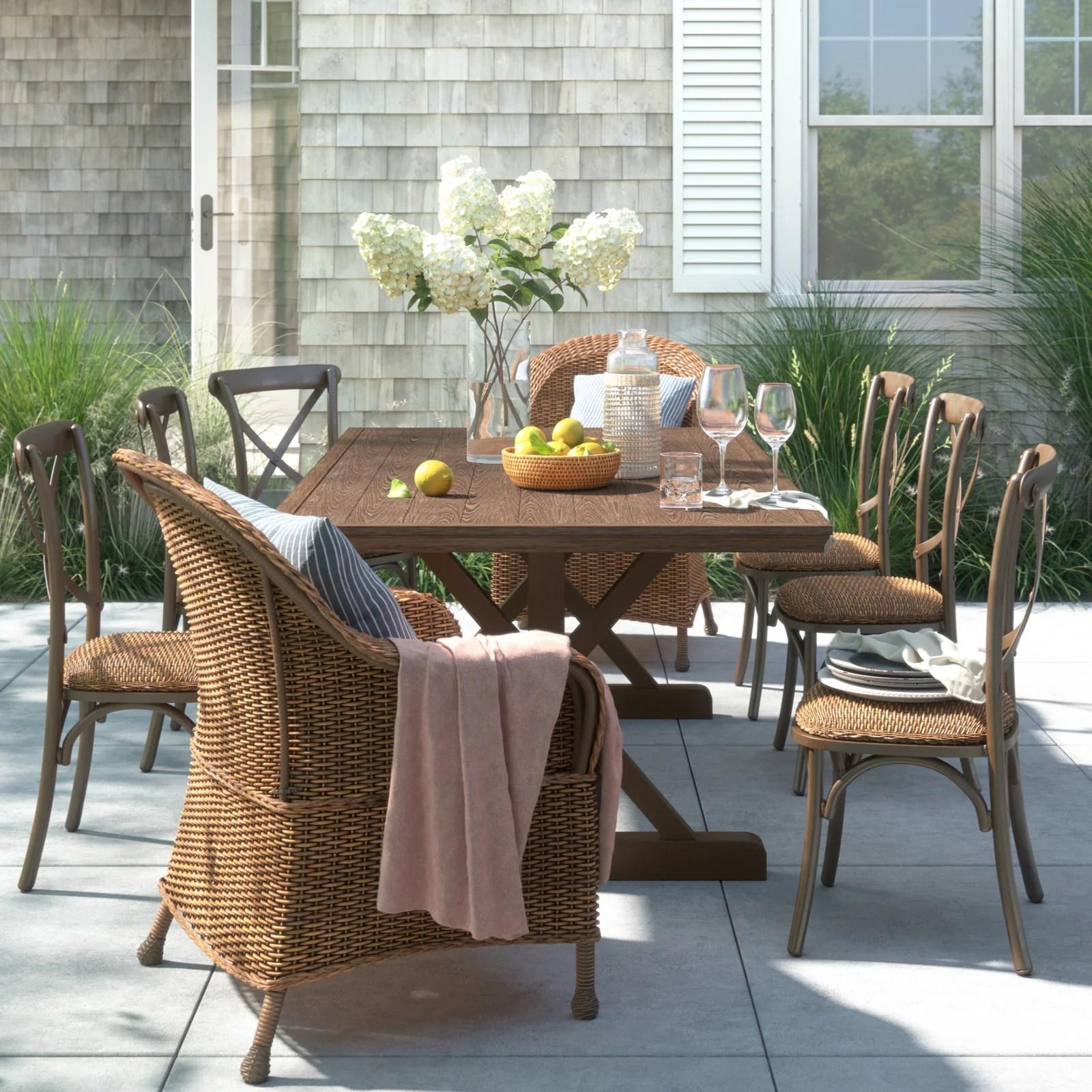 farmhouse rustic outdoor furniture