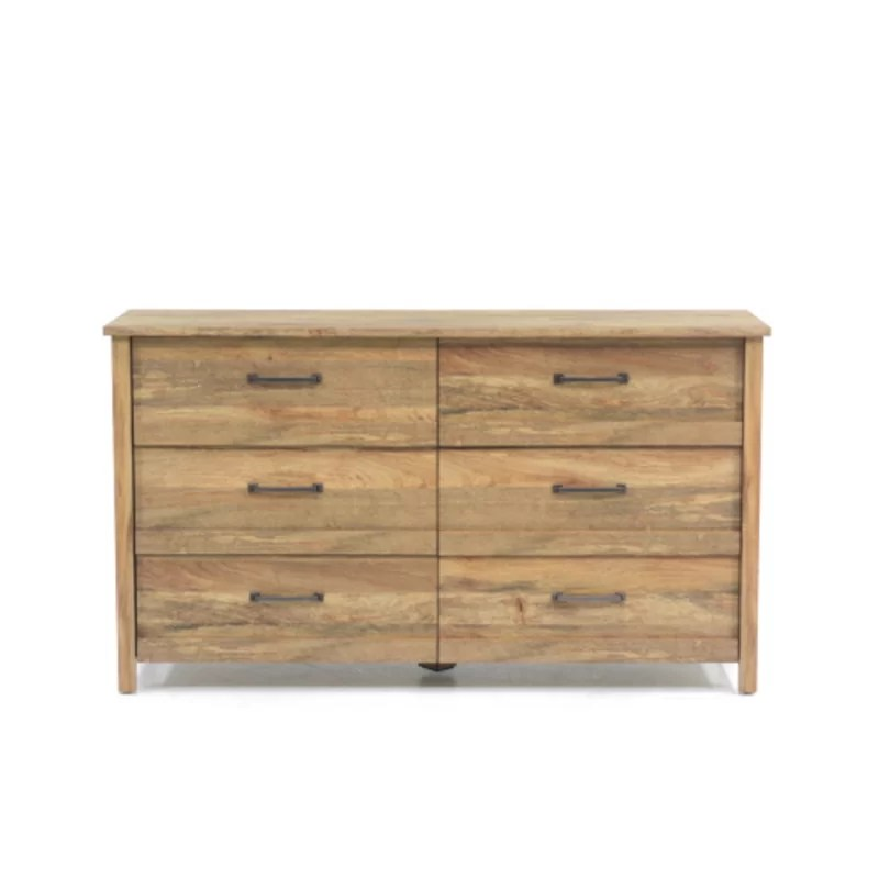collazo 6 drawer double dresser