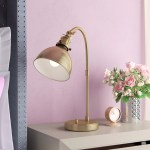 Three Posts Teen Towcester 20 Antique Brass Desk Lamp Reviews Wayfair