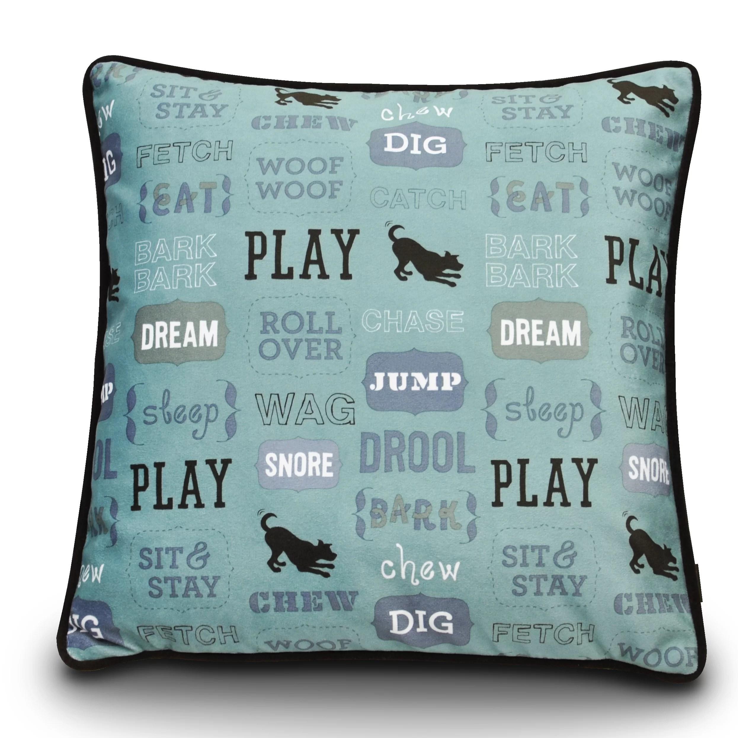 dog s life play dog pillow