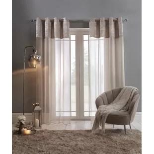 cerys eyelet sheer curtains