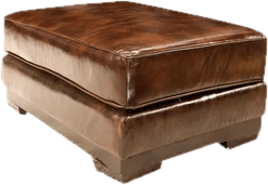 Leather Furniture You ll Love   Wayfair Leather Ottomans