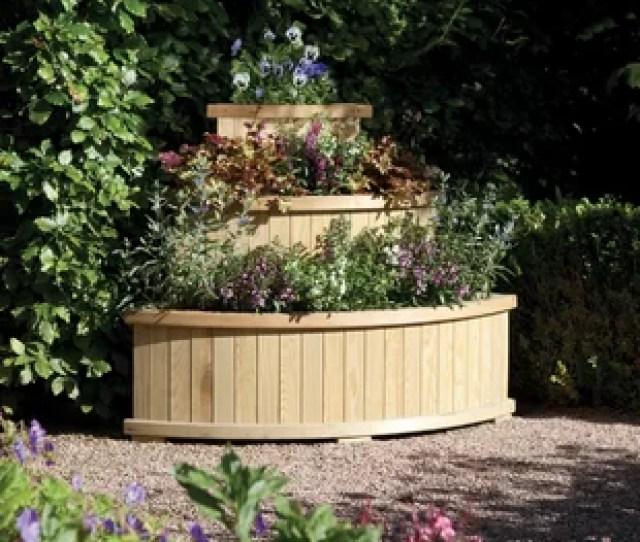 Marberry  Piece Wooden Vertical Garden Set