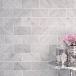 Bedrosians 3 X 12 Honed Marble Field Tile In White Carrara Reviews