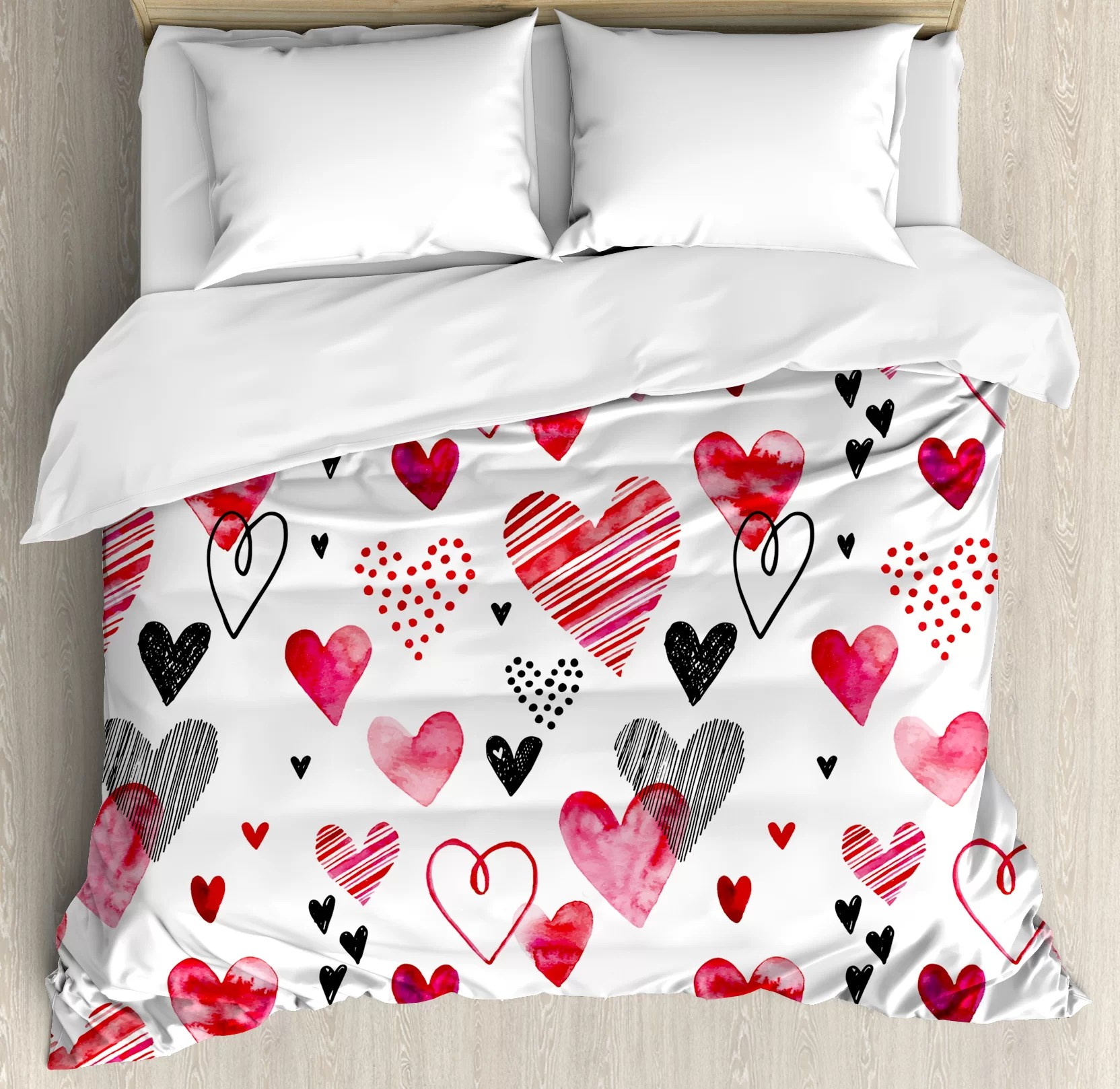 East Urban Home Valentine Different Types Of Heart Shapes