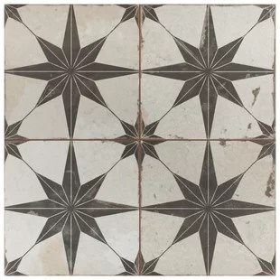 royalty 18 x 18 ceramic patterned wall floor tile