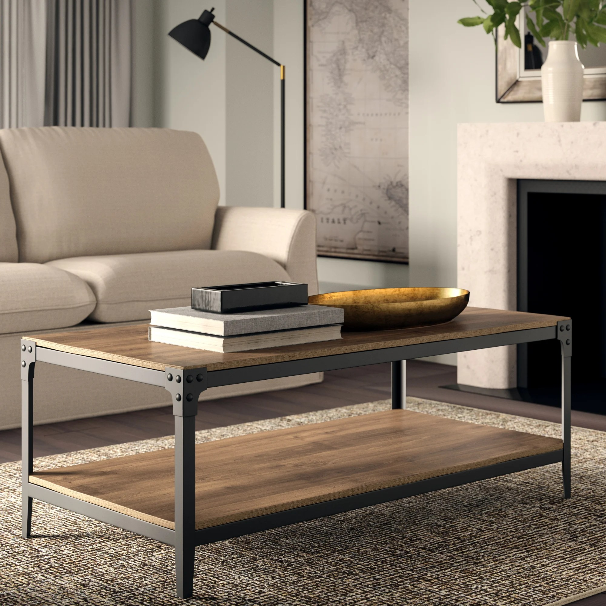 rustic coffee table sets you ll love in