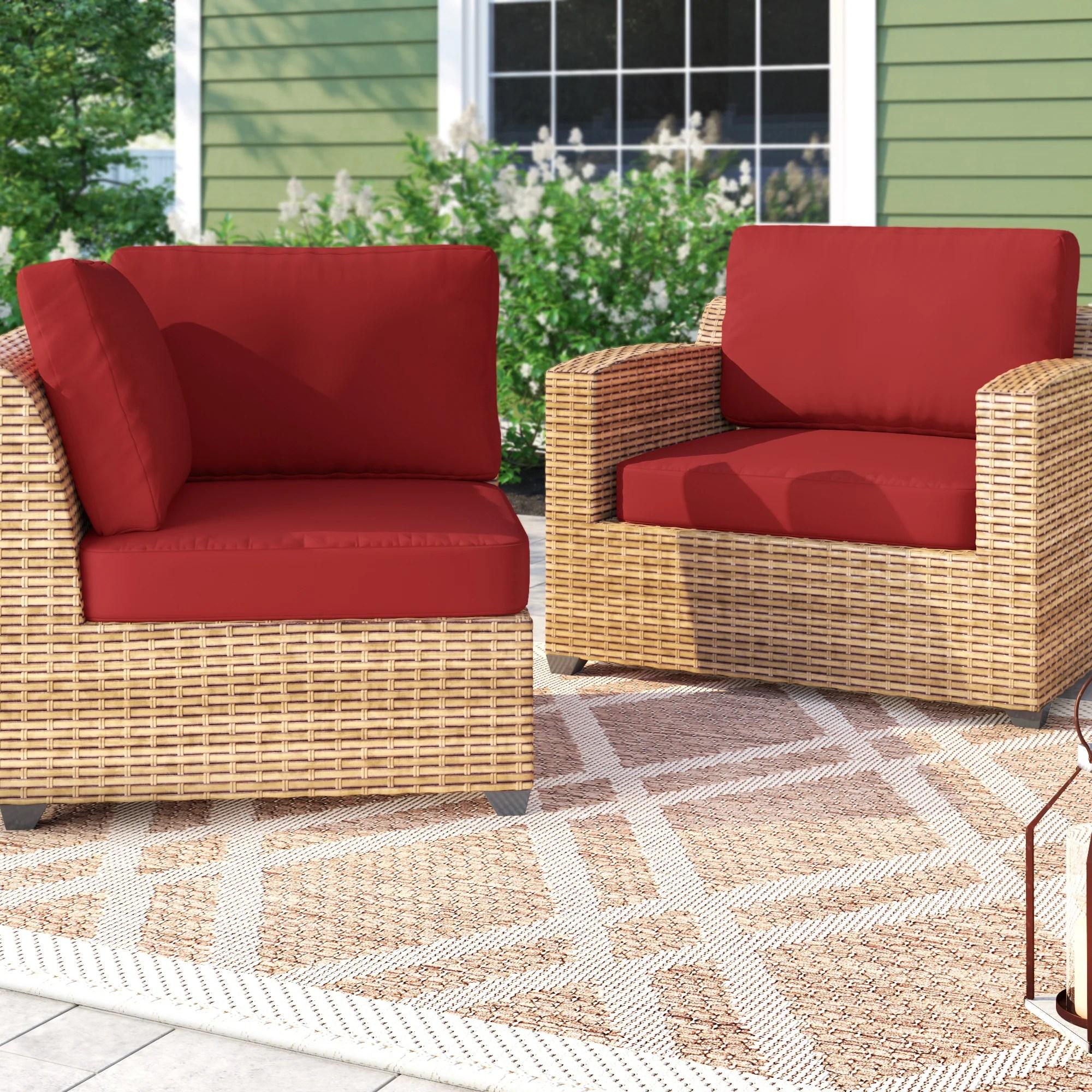 waterbury 17 piece indoor outdoor replacement cushion set