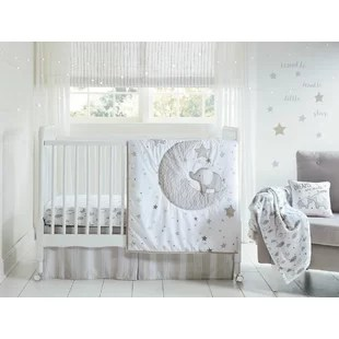 laurent lucky star 4 piece crib set set of 4