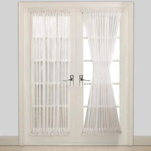 french door curtain free shipping