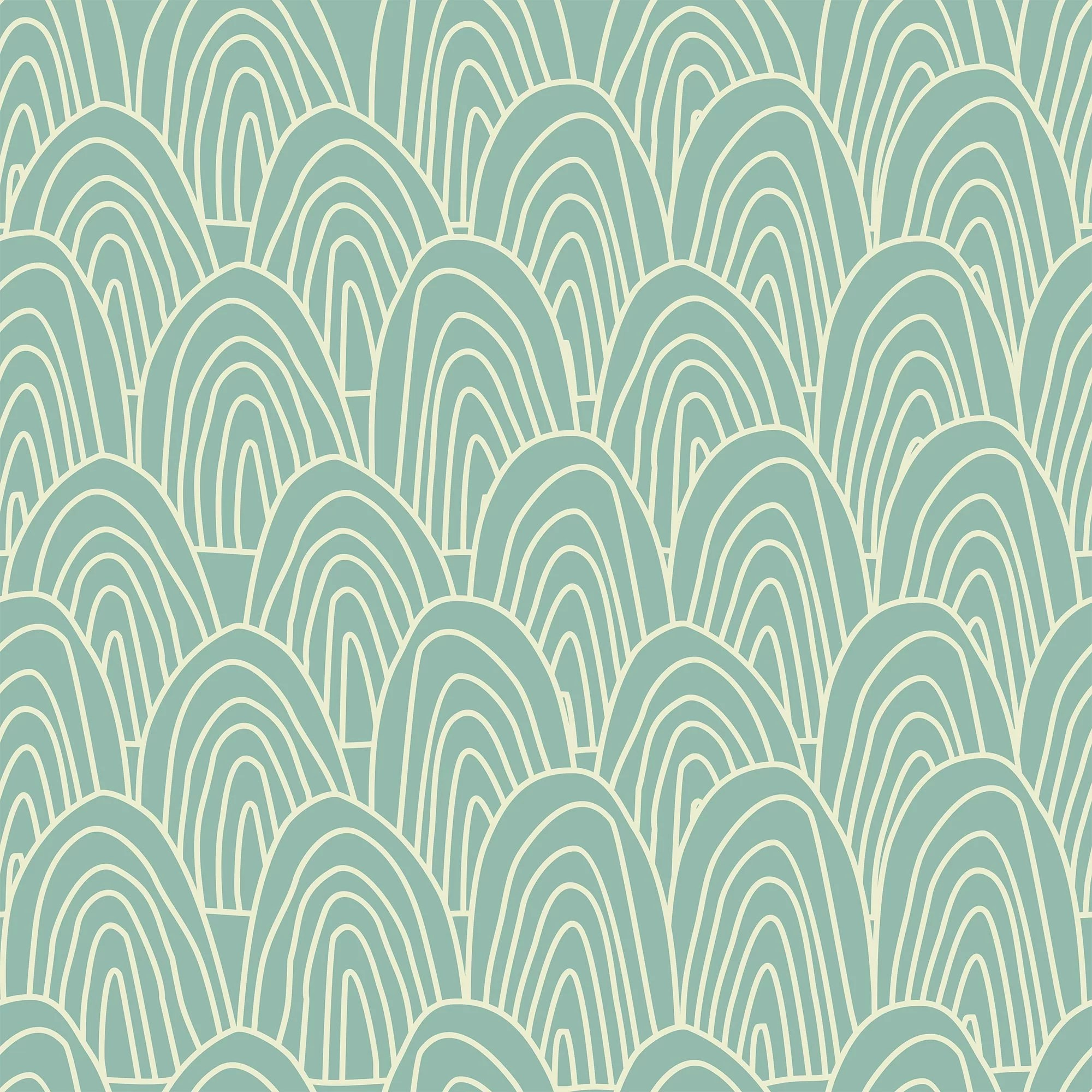 Ivy Bronx Grey And Green Seamless Basic Removable Wallpaper 8446 Wayfair Ca