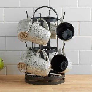 rotating mug tree