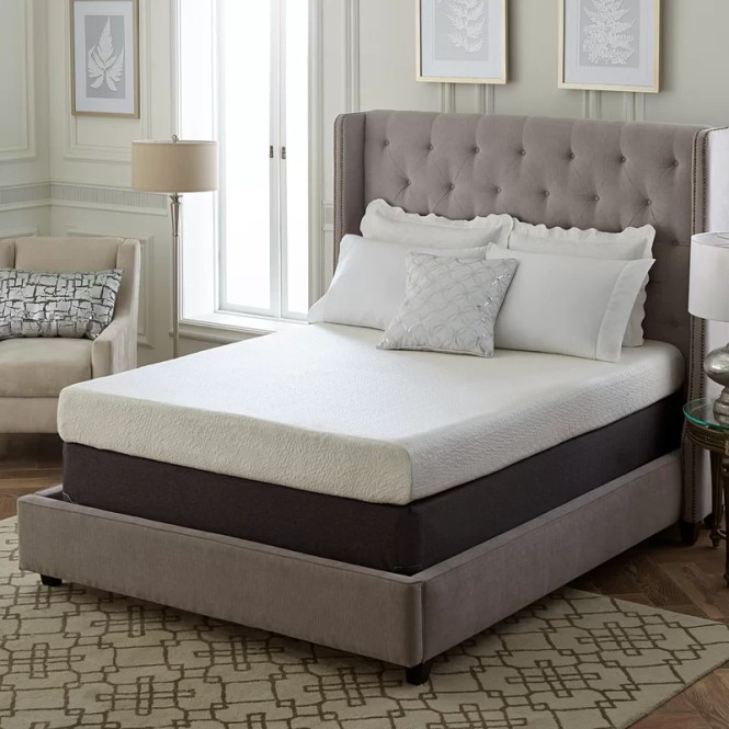 8 Medium Memory Foam Mattress
