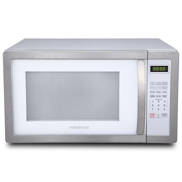 microwave with pizza oven