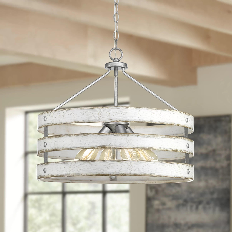 drum rustic chandeliers you ll love in