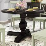 Gracie Oaks Bloomingdale Round Pedestal Dining Table Reviews