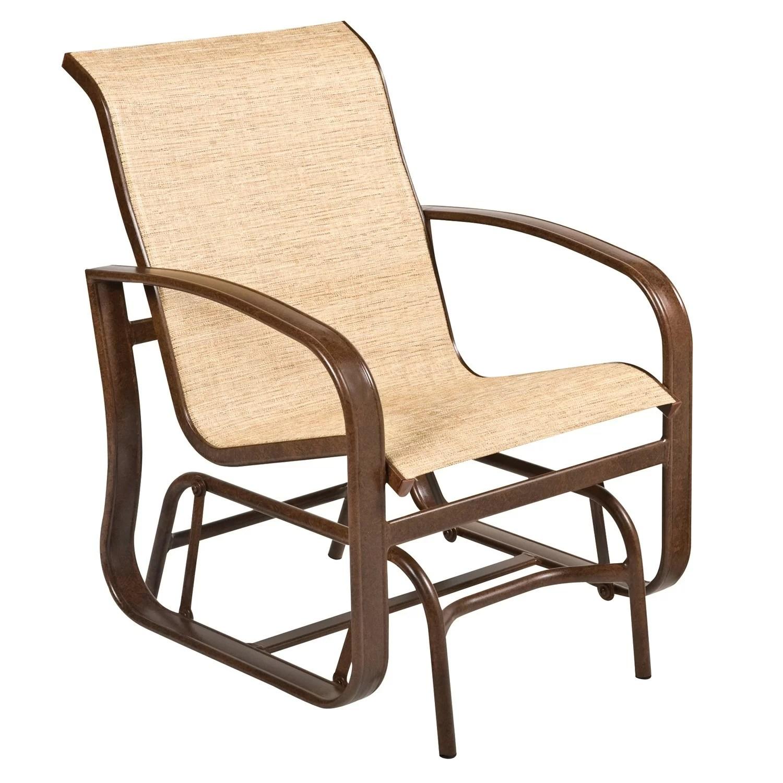 cayman isle sling glider chair