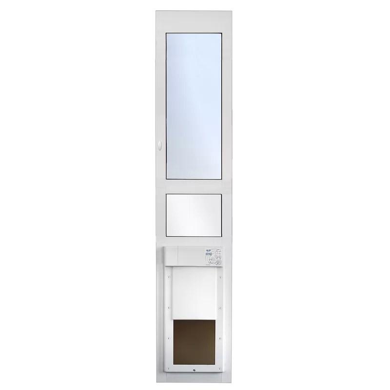 power pet sliding glass patio pet door large opening tall height door