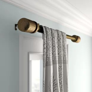 6 ft rod curtain hardware accessories