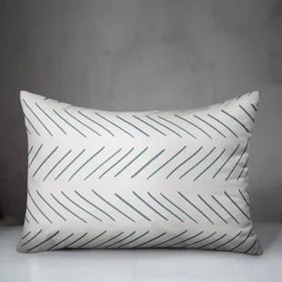 bold eclectic modern throw pillows