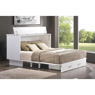 Emma Queen Storage Murphy Bed With Mattress