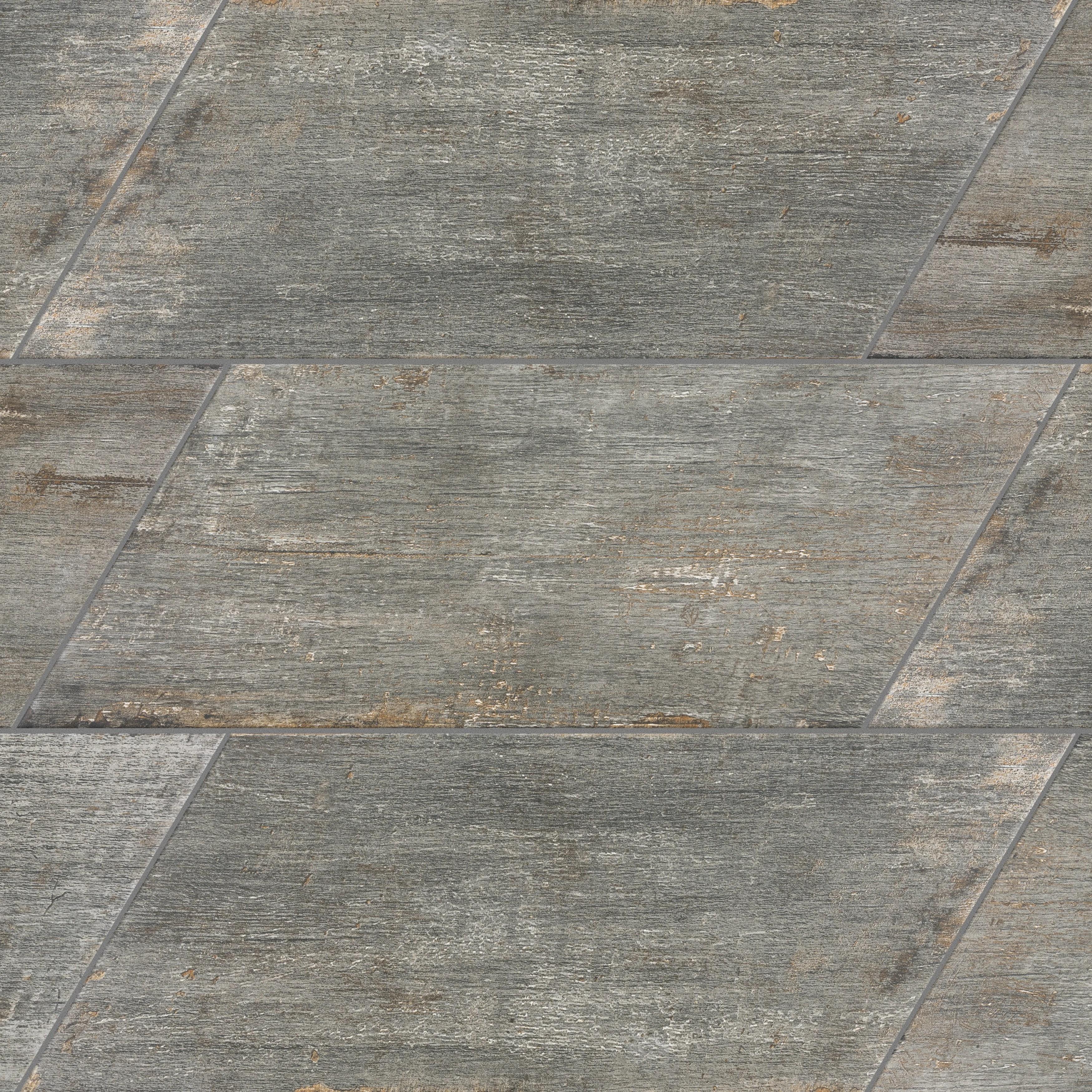 rama 7 x 16 porcelain wood look wall floor tile