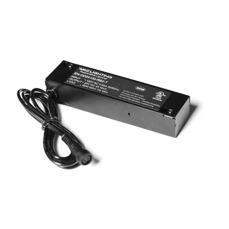 remote enclosed 96w 120v electronic transformer